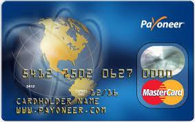 Vraag een Payoneer card aan en ontvang $25,- op je account